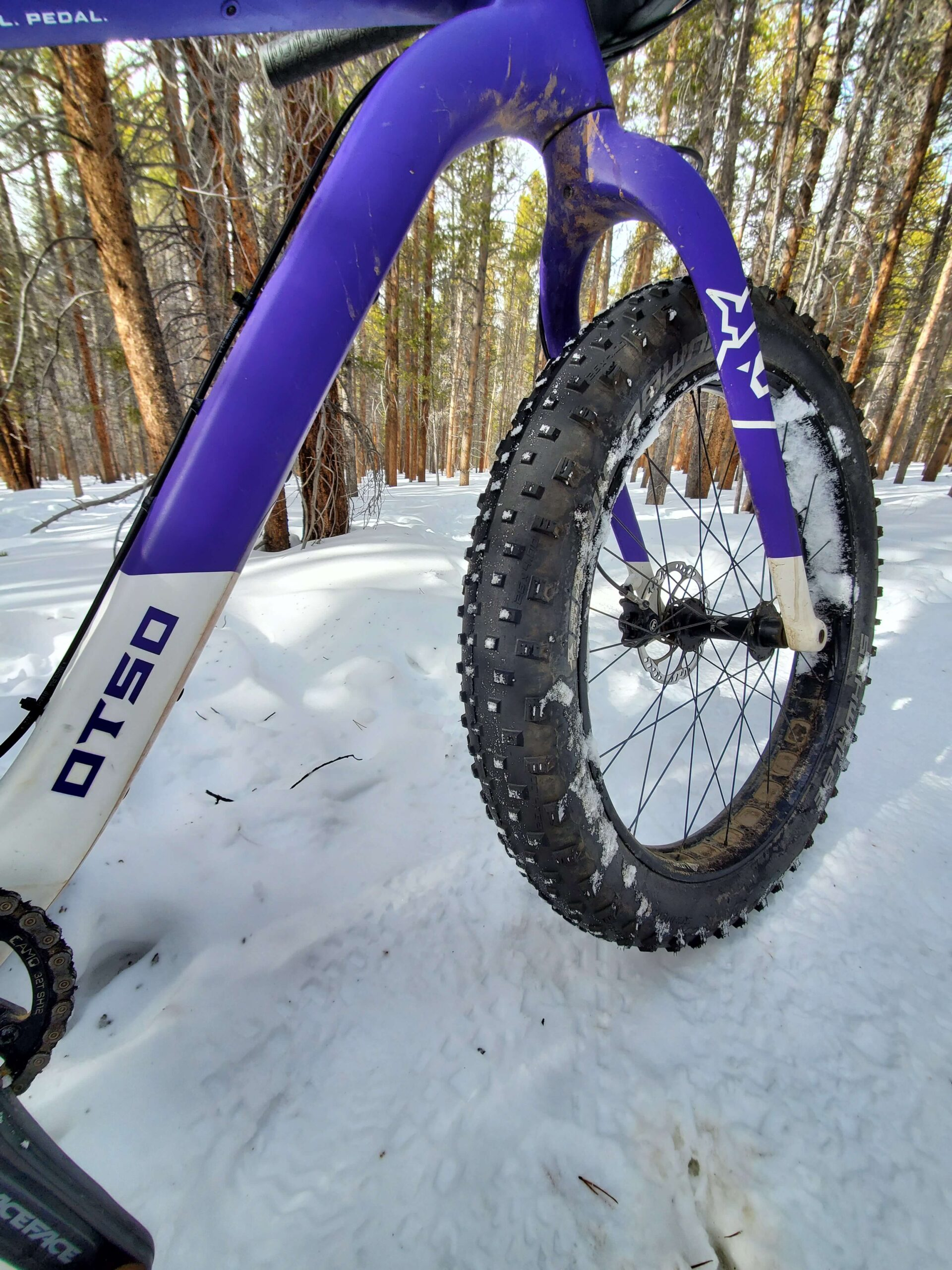 Fatbiking In Leadville, Colorado